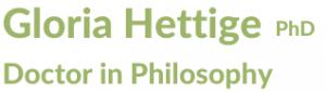 Gloria Hettige - Dr of Philosphy